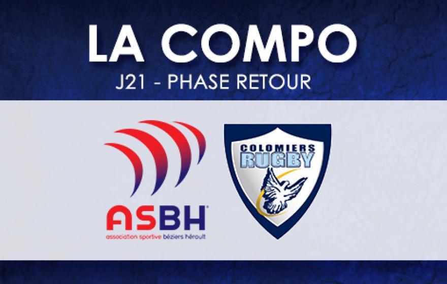 #ASBHUSCo | Le XV Biterrois
