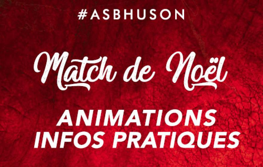 #ASBHUSON | Les animations de Noël