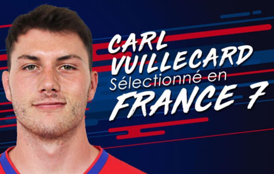 Carl Vuillecard sélectionné en #France7