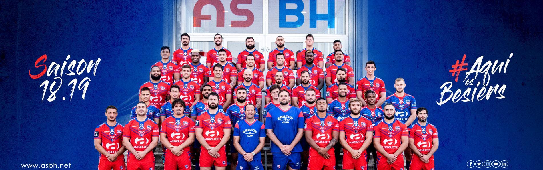 Image Découvrez l'effectif de l'AS Béziers Hérault saison 2018/2019