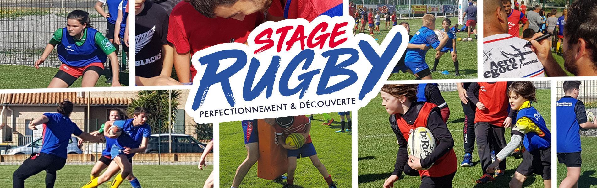 Image Le stage rugby est de retour pour les vacances de la Toussaint !