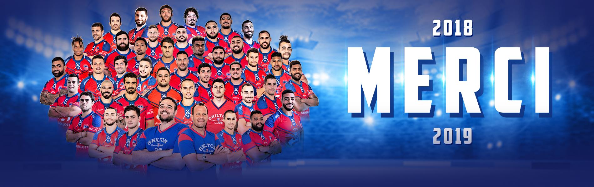 Image Merci pour votre soutien sans failles et rendez-vous pour la saison 2019/2020 !