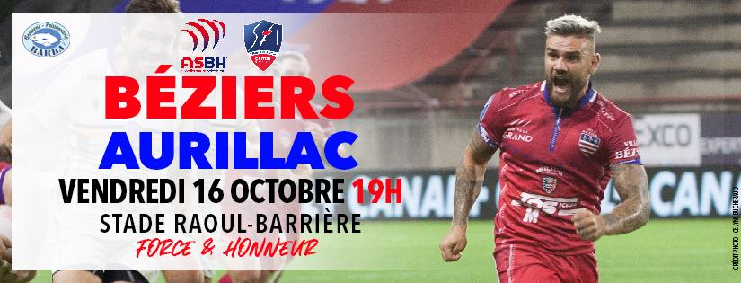 Image ASBH - Stade Aurillacois : Billetterie à venir...