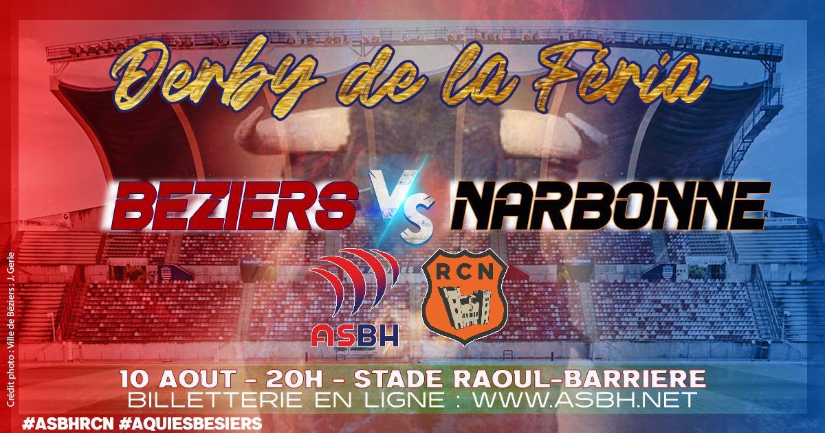 Image Match amical : ouverture de la billetterie RC Narbonne