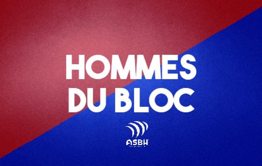 Hommes du bloc 2 : Latorre et Madigan