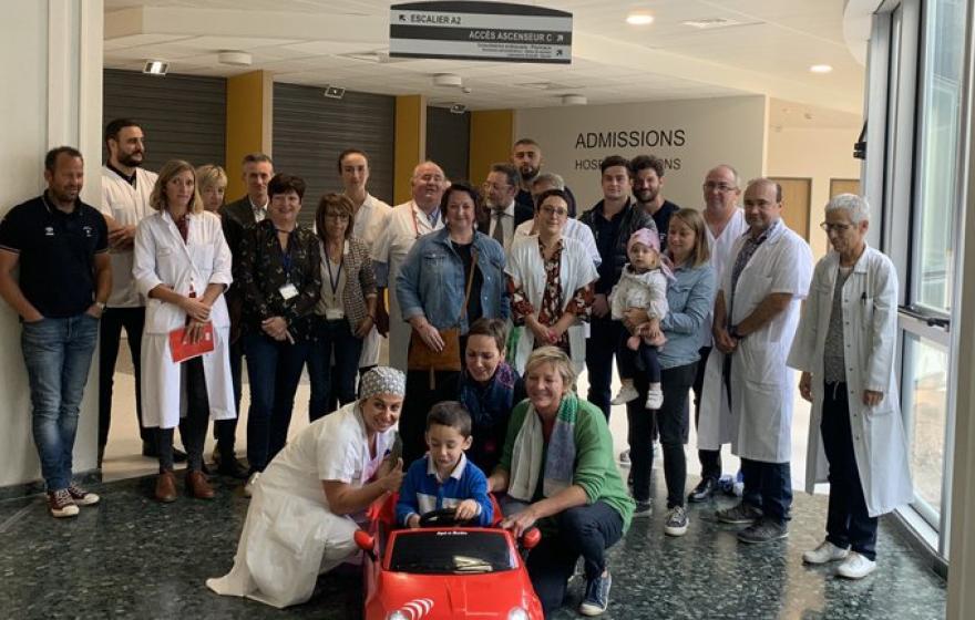 L'ASBH au soutien à l'hôpital de Béziers
