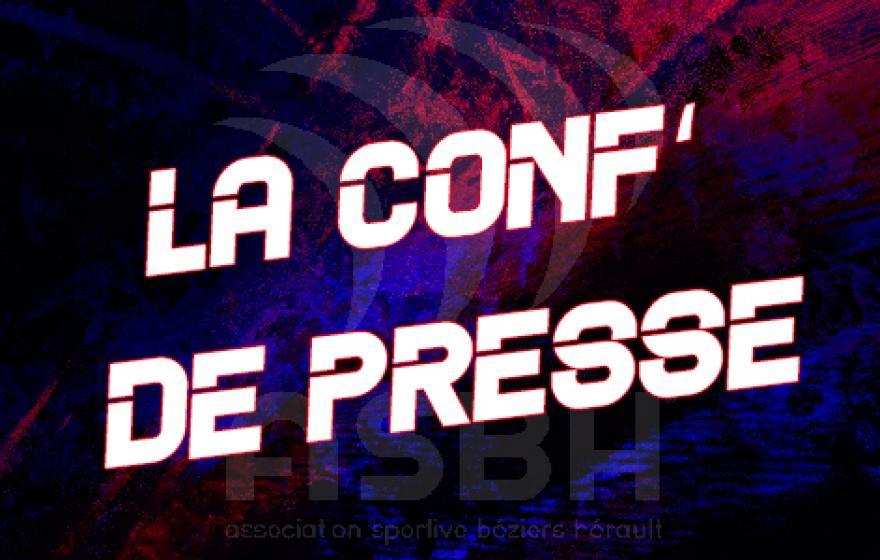 MONTAUBAN - ASBH : la conférence de presse
