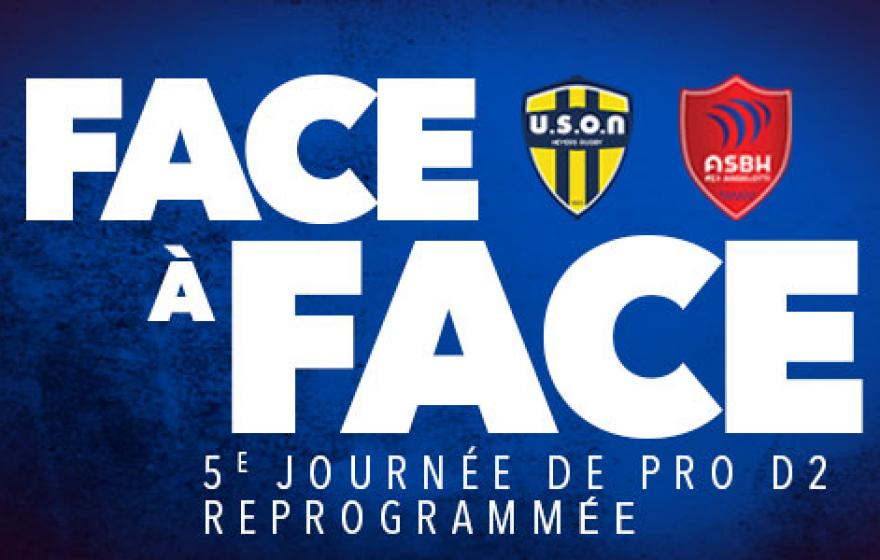 Nevers - Béziers | Le face-à-face