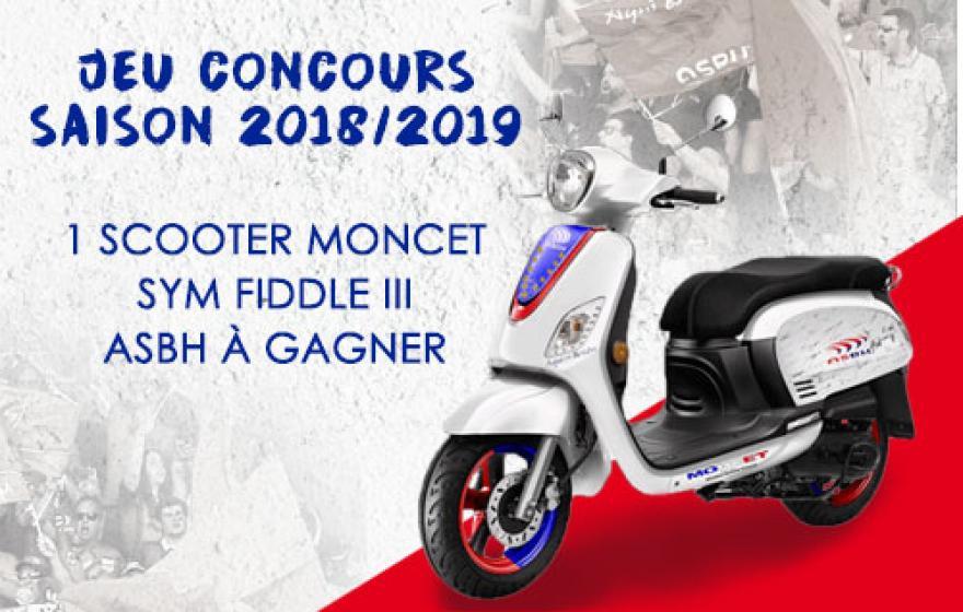 Jeu concours MONCET x ASBH saison 2018/2019