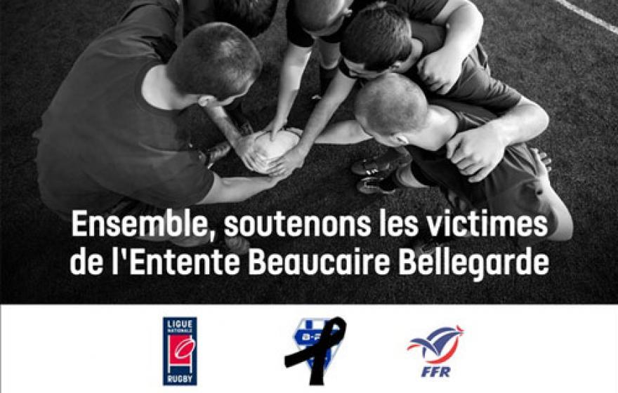 #SolidaritéBeaucaire : la LNR et la FFR lancent une campagne de dons.