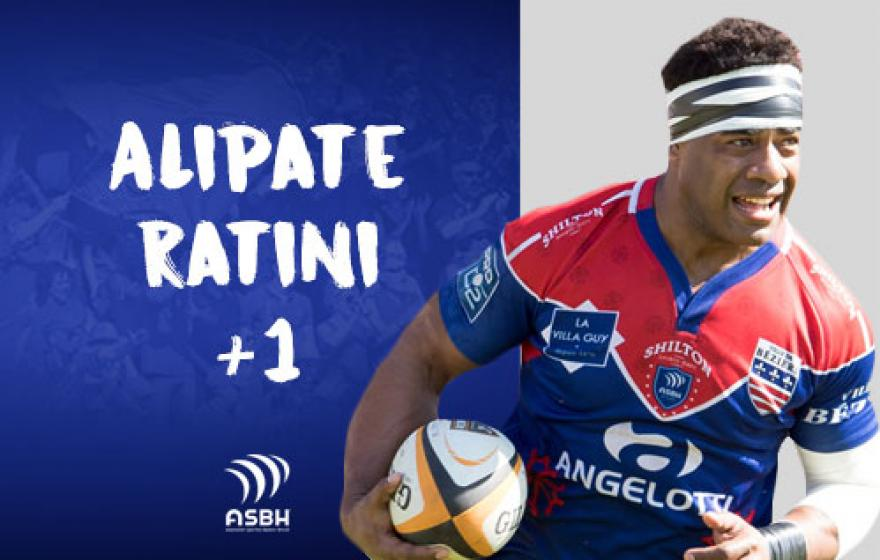 Recrutement | Prolongation d'Alipate Ratini
