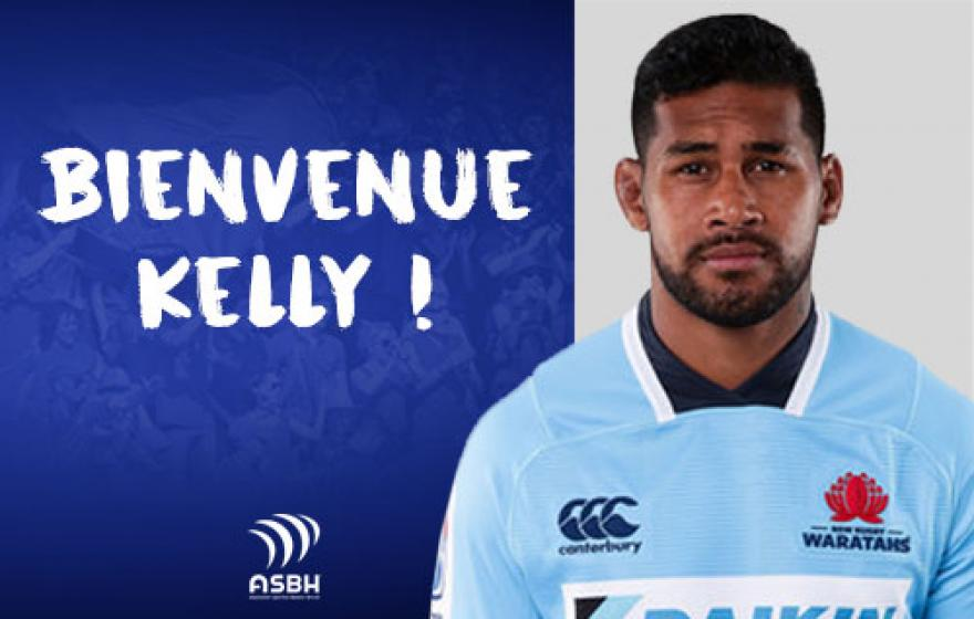 Recrutement | Signature de Kelly Meafua