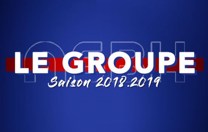 Saison 18.19 | Le groupe élargi