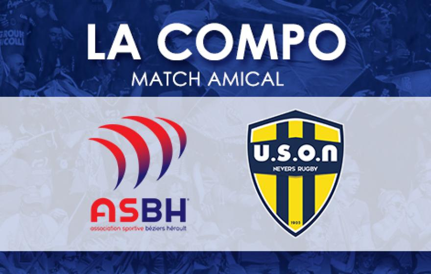 Amical | La compo pour ASBH - Nevers