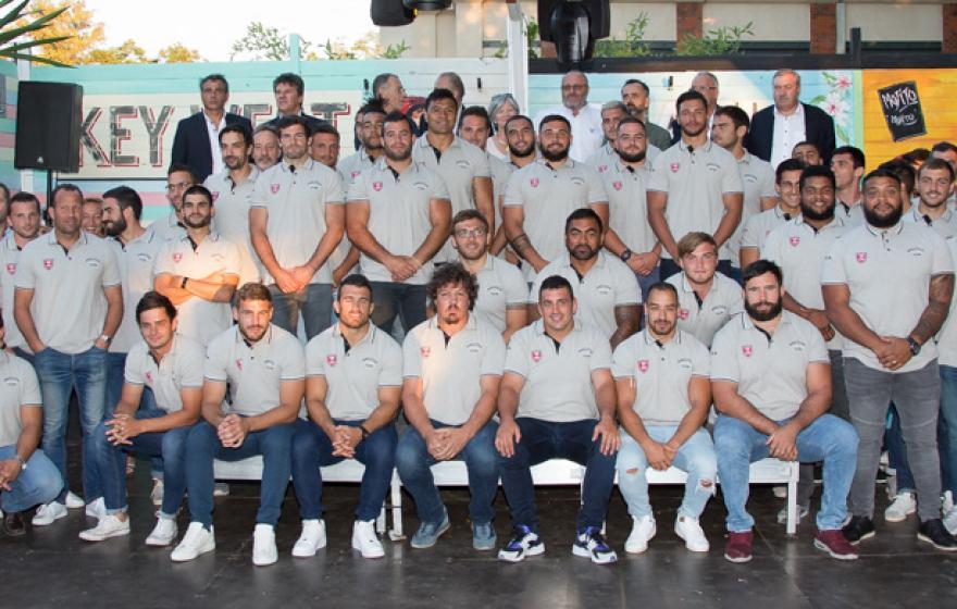 Présentation officielle de l'équipe à la Féria de Béziers !