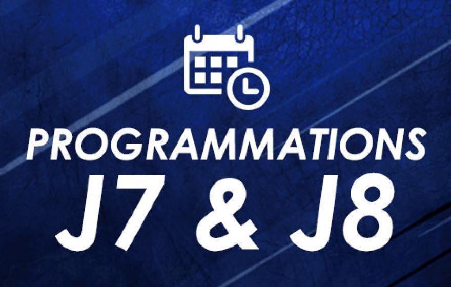 Programmations | J7 et J8