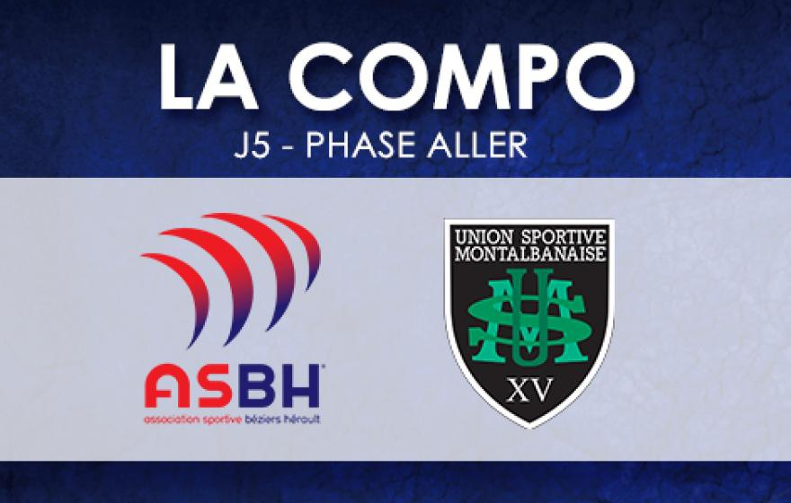 #ASBHUSM | Le XV Biterrois