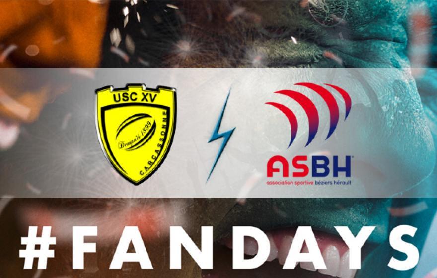 #USCASBH | Le derby pour les Fan Days