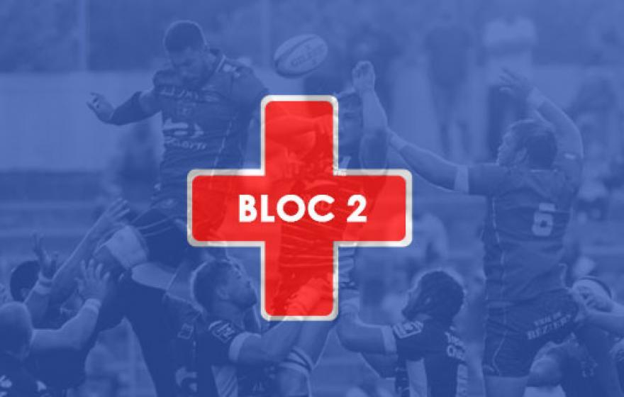 Infirmerie | Le point après le 2eme bloc