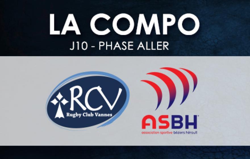 #RCVASBH | La composition Biterroise