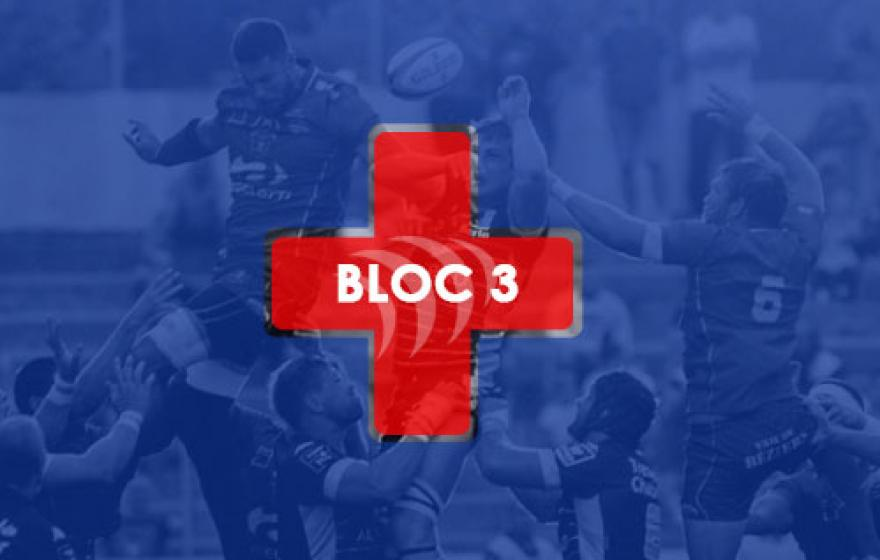 Infirmerie | Le point après le 3e bloc