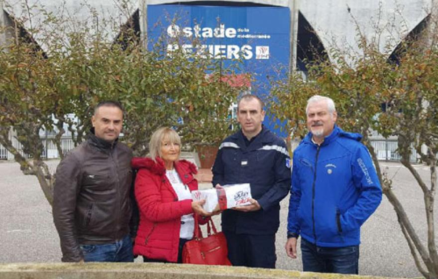 1500€ reversés pour aider les sinistrés Audois