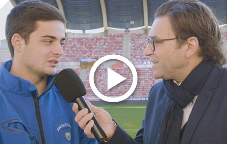 #ASBHUSON | L'avant match avec Victor Dreuille