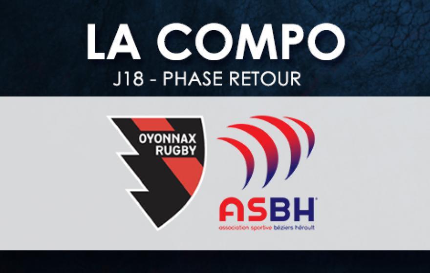 #USOASBH | Le XV Biterrois