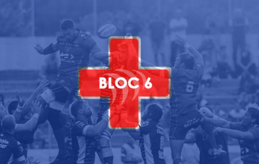 Infirmerie | Le point après le 6e bloc
