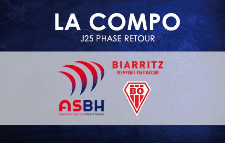 #ASBHBO | Le XV Biterrois