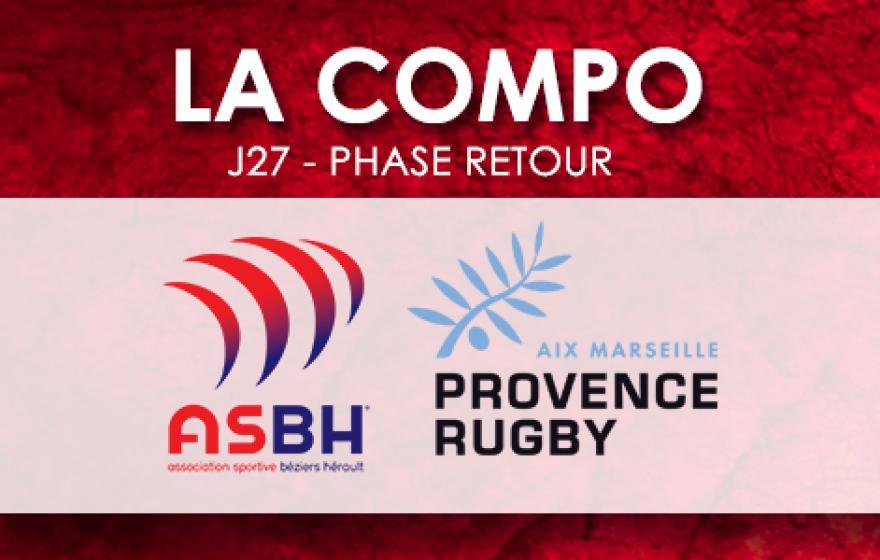#ASBHPR | Le XV Biterrois