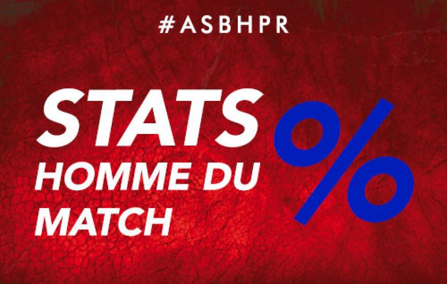 #ASBHPR | Les stats du match