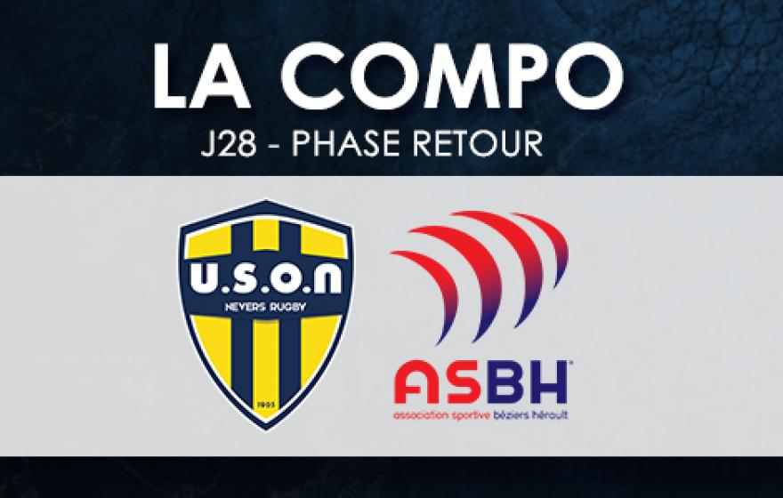 #USONASBH | Le XV Biterrois