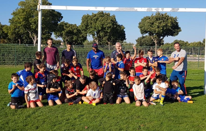 Reprise et inscriptions à l'école de Rugby