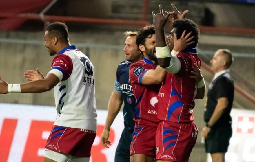 Béziers / Oyonnax : photos du match & salons