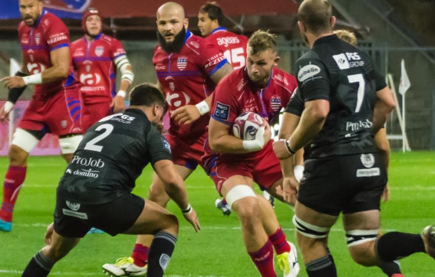 Béziers / Rouen : les stats du match