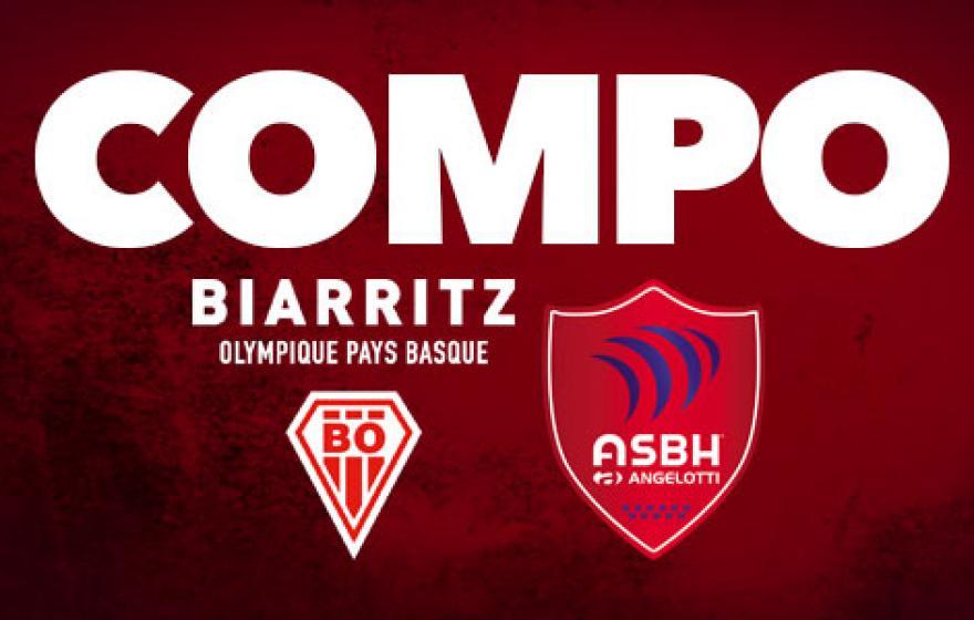Biarritz / Béziers : La compo !