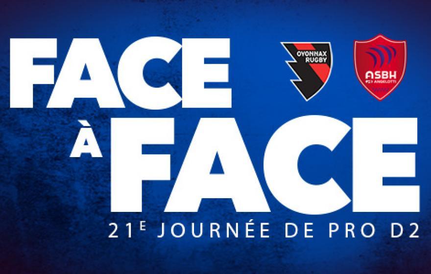 Oyonnax - Béziers : le face à face