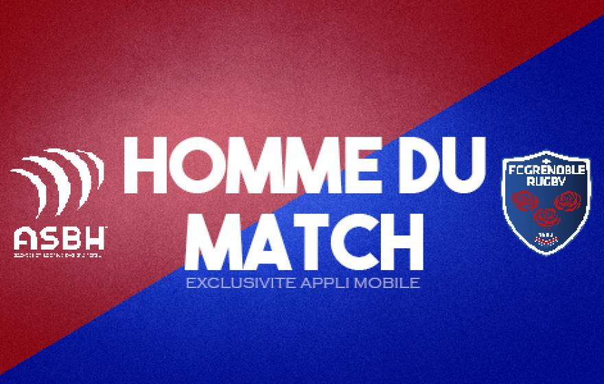 ASBH - FCG : Homme du match