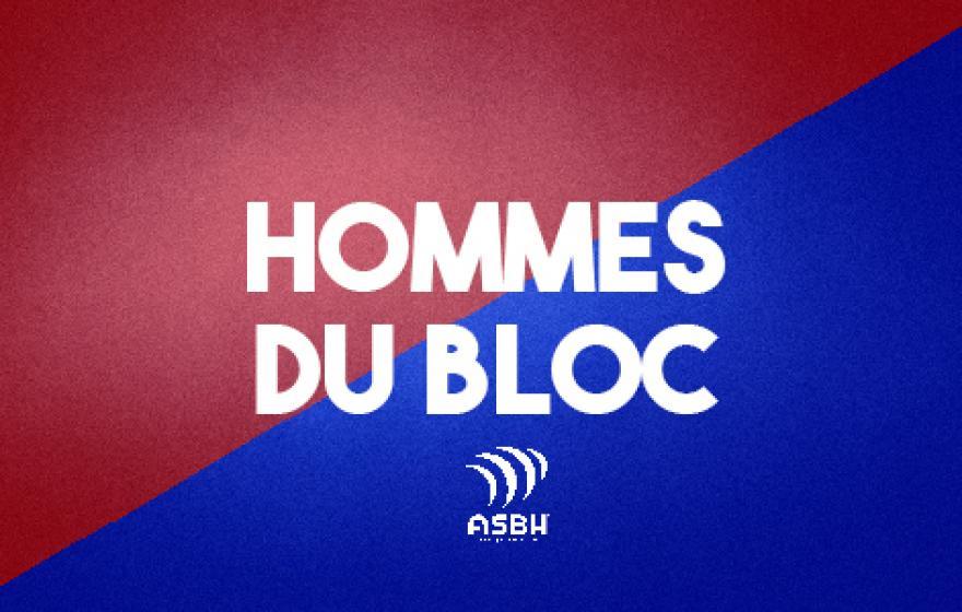 Hommes du bloc 1 : Tedder et Eames