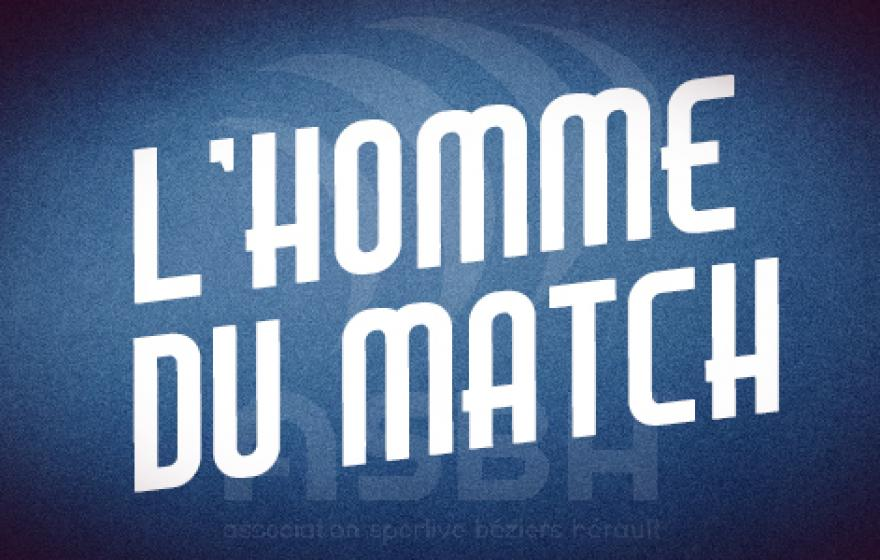 Montauban - Béziers : l'homme du match