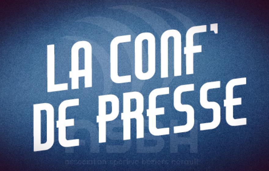 Angoulême - Béziers : la conférence de presse