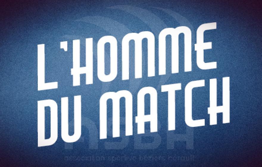 Angoulême - Béziers : l'homme du match