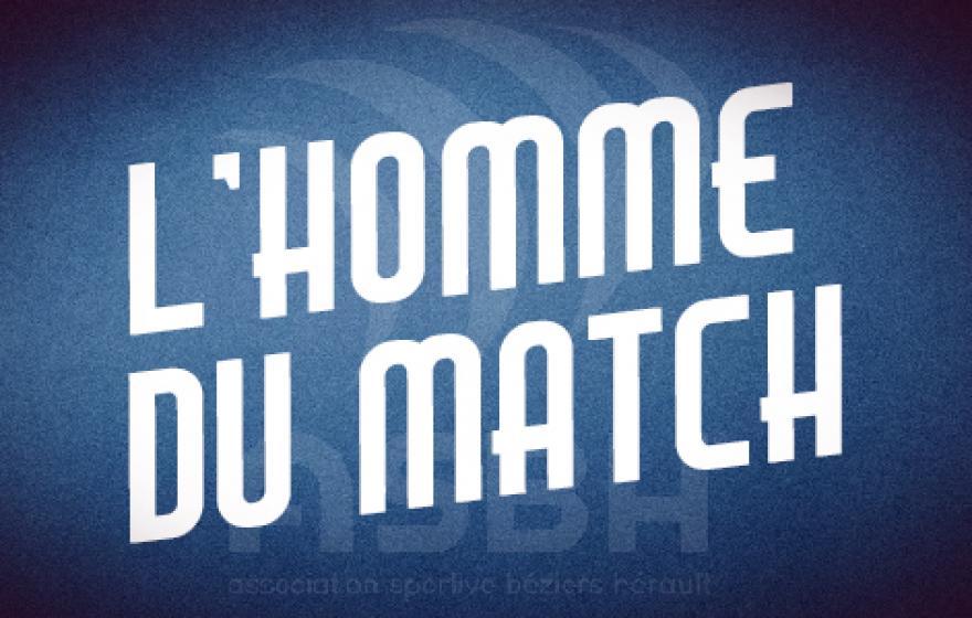 Oyonnax - Béziers : l'homme du match