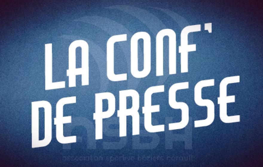 Carcassonne - Béziers : la conférence de presse