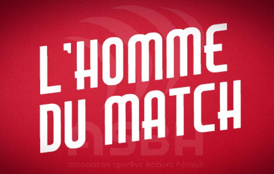 Béziers - Mont de Marsan : l'homme du match