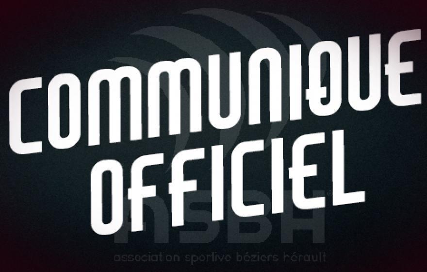 Communiqué officiel : prolongation de Thibaut Bisman