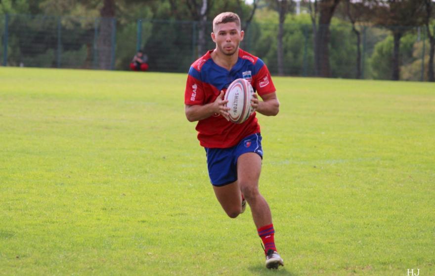 Etudiant et rugbyman : Pierre Courtaud
