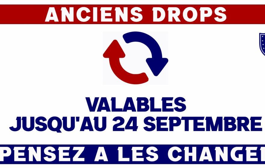 BUVETTES : changez vos drops