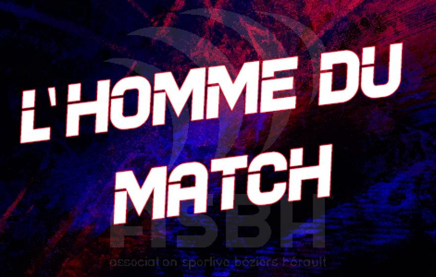 ASBH - Aurillac : l'homme du match